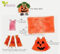 Thainie Creations: Halloween: Pumpkin Costume
