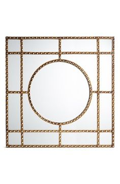 Free shipping and returns on Three Hands Studded Metal Mirror at Nordstrom.com. Polished metal nail-heads stud the geometric wooden lattice that frames a segmented accent mirror with chic, Art-Deco appeal.