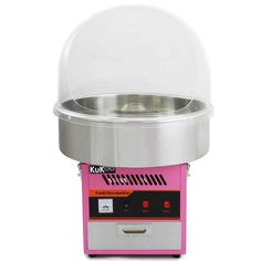 With this electric candy floss machine and protective dome you can treat your family, friends, customers and of course yourself to a wonderfully tasty treat wherever and whenever you like.