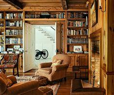 Rustic Den/Library