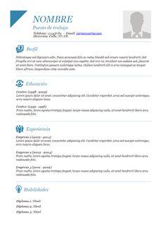 Descargar Formato Hoja de vida en Word - 014 | #HojadeVida | #CurriculumVitae | #HV - Formatos Hoja de Vida en Word Gratis | Hoja de Vida | Descargar Formatos Hoja de Vida