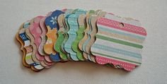One Dollar Gift Hang Tags Set of 24 by BeeCreative2 on Etsy, $1.00 (lots of different tags to choose from)