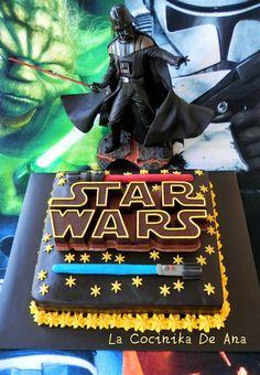 La Cocinika De Ana: Tarta Star Wars