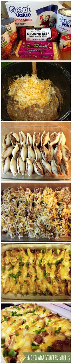 Enchilada Stuffed Shells                                                       …