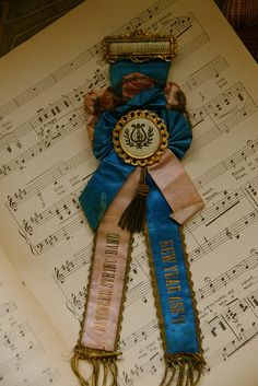 Music Director Award Ribbon by freckledfarm, via Flickr