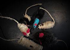 Pomysły plastyczne dla każdego, DiY - Joanna Wajdenfeld: Zabawki dla kota DiY