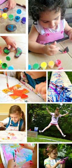 10+ Painting Crafts for Kids