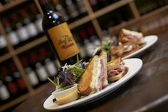 $25 Dinner for 2 and Bottle of Wine January 28th-Feb 2. $25 Dinner for 2 and Bottle of Wine: Hot Dipped Honey Glazed Ham Sandwich with mixed greens salad and Argentine Red WIne