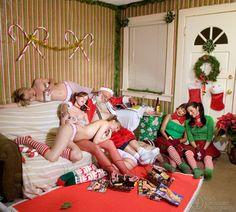 Santa had a tiresome xmas