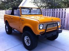 1970 International Harvester : Scout 800A