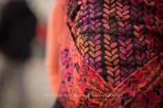 Woven Wings knits Autumn Sunset Wrap (wool)
