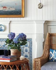 Delft Tiles New England Home Mag