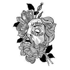 Dream Tattoos, Mini Tattoos, Future Tattoos, Body Art Tattoos, Sleeve Tattoos, Black Tattoo Art, Tattoo Flash Art, Black Tattoos, Tatto Ink