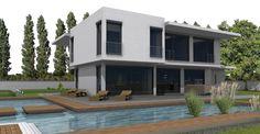 2P Raum Architekturbüro Heidenheim - freie Architekten Nadine Pupke und Mark Pupke Style At Home, Bauhaus, Mansions, Architecture, House Styles, Outdoor Decor, Home Decor, Build House, Modern Architecture
