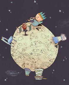 El principito dibujado por Hsiao-Chi Chang