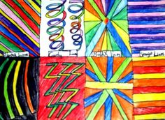 Lines, Lines, Lines! - Artsonia Lesson Plan