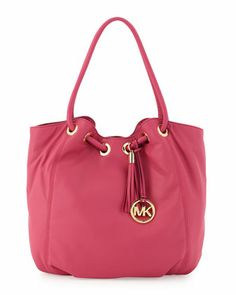 Large Ring-Handle Tote Bag, Zinnia by Michael Kors at Neiman Marcus Last Call.