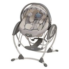 """Graco 2-in-1 Glider Elite Swing - Brompton - Graco  - Babies""""R""""Us   Love all the things this can do!"""