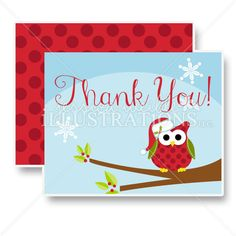 Christmas Thank You Card Set By Jennifer Mcguire  SeasonS