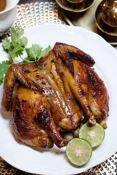 Healthy eating can be tough. Stick to these tried and true healthy eating recipes to keep your eating on track. Thai Roasted Chicken Recipe, Roast Chicken Recipes, Thai Chicken, Duck Recipes, Thai Recipes, Asian Recipes, Cooking Recipes, Healthy Recipes, Healthy Breakfasts