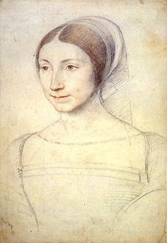 Jean Clouet (French, 1474/85-1540). Portrait of a Young Woman.