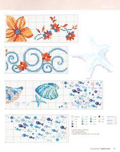 Cross Stitch Sea, Plastic Canvas, Bullet Journal, Sewing, Diy, Crossstitch, Nursery Fabric, Bath Linens, Cross Stitch Embroidery