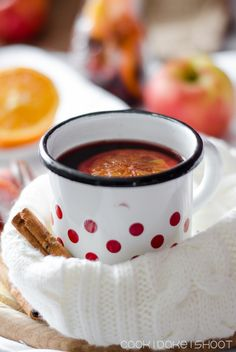 Balsamico-Kirsch-Apfel-Punsch/ balsamic cherry apple punch