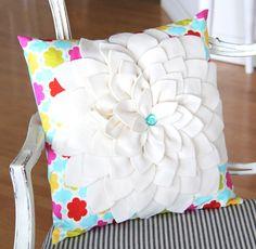 Petal Pillow to sew