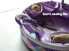 Sam's sewing life: 缝纫置物篮