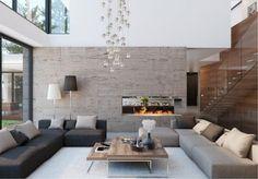 Lámpa megoldások a nappaliban - a világos szoba titka