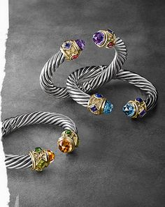 David Yurman jewelry.