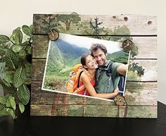 Into The Woods trees national park hiking rustic home decor camping great outdoors gift handmade magnetic picture frame holds 5 x 7 photo 9 x 11 size >>> To view further for this item, visit the image link.Note:It is affiliate link to Amazon.