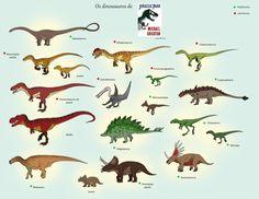 Jurassic Park novel Dinosaurs by Iguana-Teteia.deviantart.com on @DeviantArt