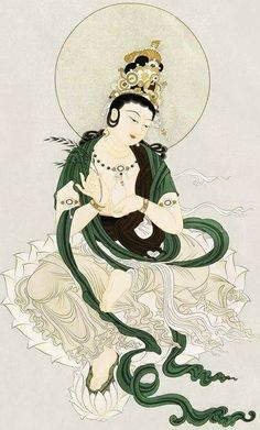Theravada Buddhism, Buddha Art, Guanyin, Perennial, Deities, Occult, Concept Art, Oriental, Paintings