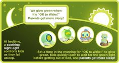 OK to Wake! A tool to help children know when it is ok for them to get out of bed
