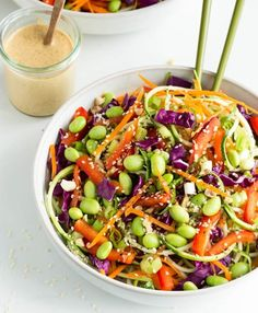 What's for dinner? Raw Pad Thai with Zucchini Noodles.