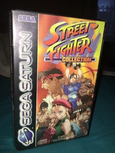 Street Fighter Collection PAL  #retrogaming #HotSS  #saturnday complete with 2 discs and manual. In good condition. Auction already at 190 GBP! ends in 24 hours.