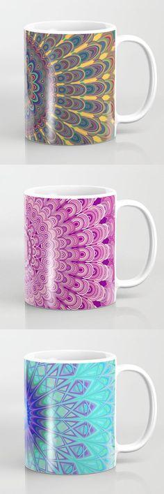 Awesome Mandala Coffee Mugs  #kitchen #art #graphic #society6art #artwork
