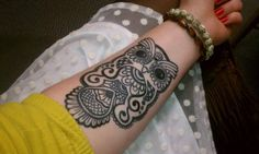 Owl ink. This is the placement I was talking about for the owl tat. Think that looks so pretty!