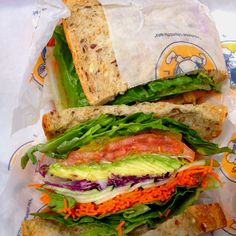 Vegetarian sandwich from Lenny's in NY