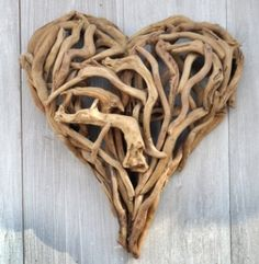 drift wood. this is gorgeous!