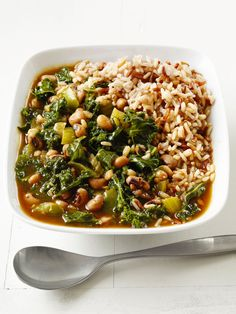 Vegetable Gumbo : Frozen black-eyed peas and quick-cooking Swiss chard make this vegan stew a super-fast supper. Soy sauce and smoked paprika give it slow-simmered flavor, fast.