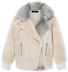 23 Woman Clothing For Women outfit fashion casualoutfit fashiontrends Source by petpenufva Shearling Jacket, Fur Jacket, Moto Jacket, Biker Jackets, Outerwear Jackets, Winter Outfits, Cool Outfits, Casual Outfits, Pink Jacket