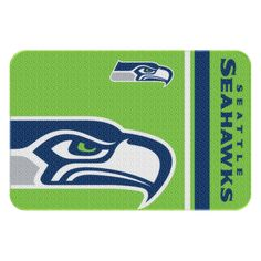 northwest 30 x 20 seattle seahawks nfl tufted rug by northwest