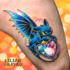 Dragon Heart Tattoo Artist: Lilian Raya CDMX, México … – Awesome Tatoos