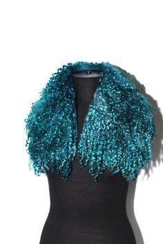 Felted Scarf Collar Fur Free