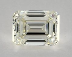 GIA Certified 0.74ct  Emerald Cut Diamond vvs1 clarity K color Engagement Ring…