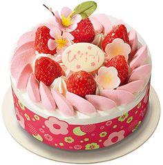 イチゴのホイップクリームが春らしい「ひなまつり いちごのショートケーキ5号」(3200円)
