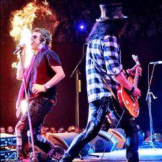 Glenn Hughes and Slash 2013 (Kings Of Chaos) #GlennHughes #KingsOfChaos