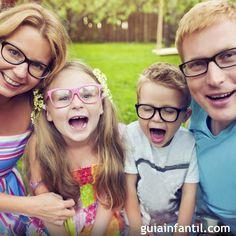 El componente hereditario de la miopía en los niños.
